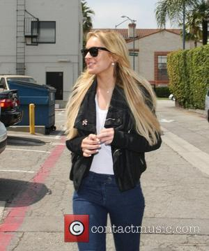 Lindsay Lohan In Hospital