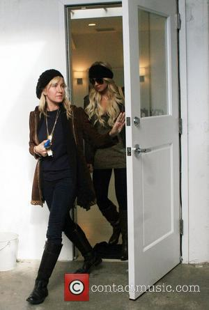 Lindsay Lohan and Her Assistant
