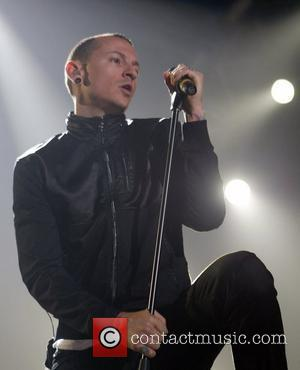 Chester Bennington Linkin Park performing the opening night of their UK Tour, 'Minutes to Midnight' at the Nottingham Arena Nottingham,...