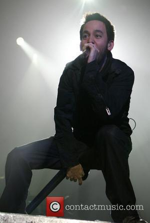 Mike Shinoda  Linkin Park performing the opening night of their UK Tour, 'Minutes to Midnight' at the Nottingham Arena...