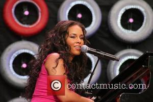 Alicia Keys Live Earth New York concert at Giants Stadium New York City, USA - 07.07.07