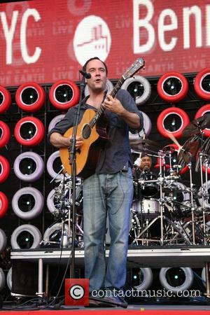 Dave Matthews, Live Earth, Giants Stadium