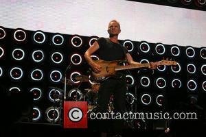 Live Earth, Giants Stadium, Sting