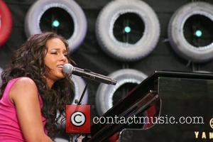 Alicia Keys Live Earth New York concert at Giants Stadium New Jersey, USA - 07.07.07