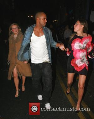 Carley Stenson and Ricky Whittle