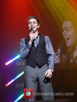 Ray Quinn performing At the Radio City Local Heroes Award Night at the Royal Court Theatre Liverpool , England -...