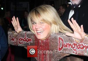 Sally Lindsay London Dungeons New Ride 'The Jack the Ripper Experience' - Arrivals London, England - 06.04.08