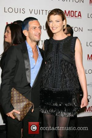 Marc Jacobs and Linda Evangelista