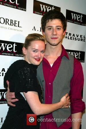 Jess Weixler and Hale Appleman The Women's Expressive Theater Second Annual LOVE Benefit held at The Angel Orensanz Foundation. New...