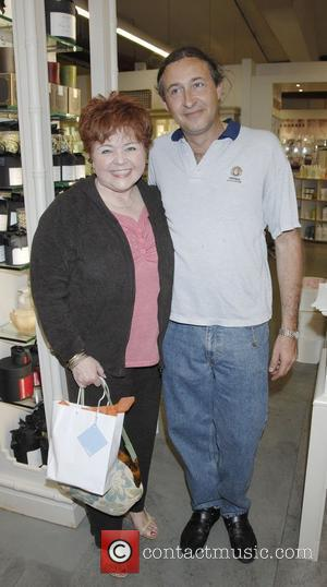 Patrika Darbo and Thierry Daubercies at the launch party of Luzern Labs Organic Skin Care, held at the Fred Segal...