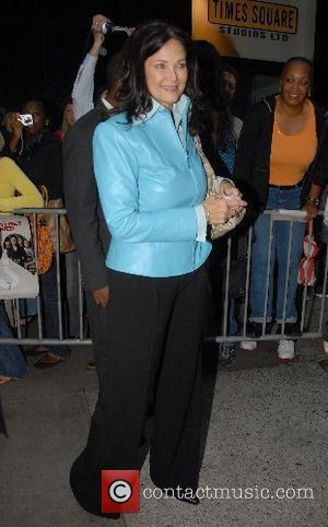 Lynda Carter arrives at ABC Studios for...