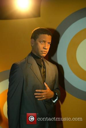 Denzel Washington Waxwork and Denzel Washington
