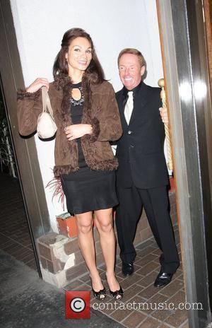 Elliot Mintz leaving Madeo restaurant with a female friend Los Angeles, California - 21.04.08