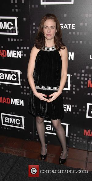 Maggie Siff AMC'S critically-acclaimed drama series MAD MEN season premiere - arrivals held at Chateau Marmont West Hollywood, Ca -...