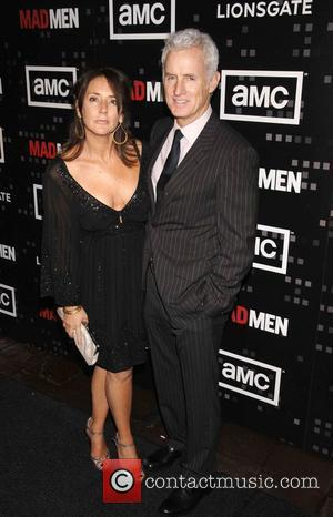 Talia Balsam and John Slattery AMC'S critically-acclaimed drama series MAD MEN season premiere - arrivals held at Chateau Marmont West...