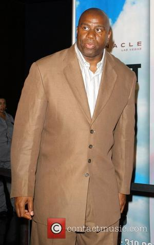 Magic Johnson Giant Magazine joins the Olympic Dream Team as they toast the entire USA Men's Basketball roster at the...