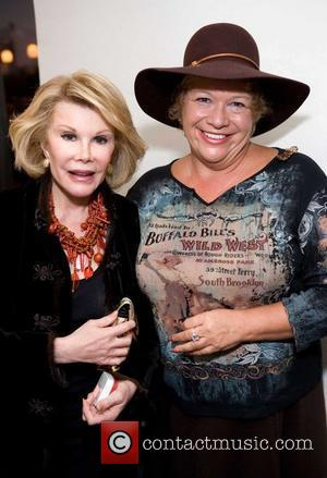 Joan Rivers and Jan Wahl