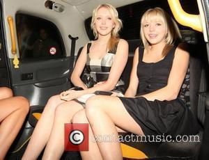 Samantha Marchant and Amanda Marchant leaving Mahiki nightclub. London, England - 15.04.08