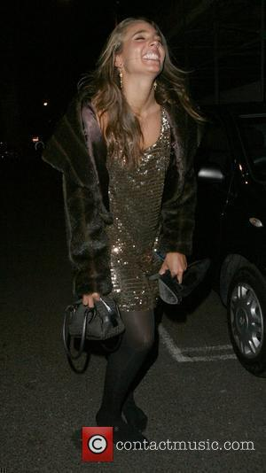 Kara Louise-Horne of Big Brother 8 outside the Mahiki London, England - 26.09.07