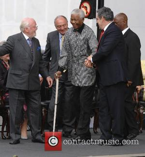 Richard Attenborough, Ken Livingstone and Nelson Mandela