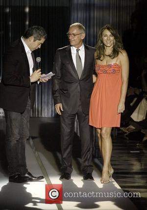 Elizabeth Hurley on stage at the 2007 Mango Fashion Awards at the Casa de Llotja  Barcelona, Spain - 06.11.07