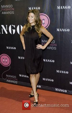 Rebecca Loos on the red carpet at the 2007 Mango Fashion Awards at the Casa de Llotja  Barcelona, Spain...