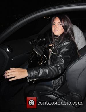 Lacey Turner leaving Mango Tree restaurant London, England - 11.01.08