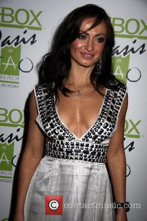 Karina Smirnoff  Mario Lopez Celebrates His Birthday At TAO  TAO Nightclub  Venetian Hotel and Casino  Las...
