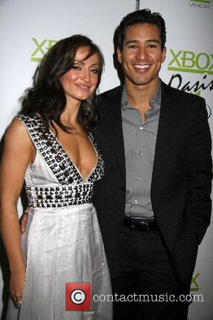 Karina Smirnoff and Mario Lopez Mario Lopez celebrates his 34th Birthday  At TAO Nightclub in Venetian Hotel and Casino...