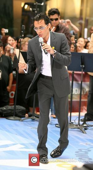 Mark Anthony performs on NBC Today Show Morning Concert Series at Rockefeller Plaza New York City, USA - 27.07.07