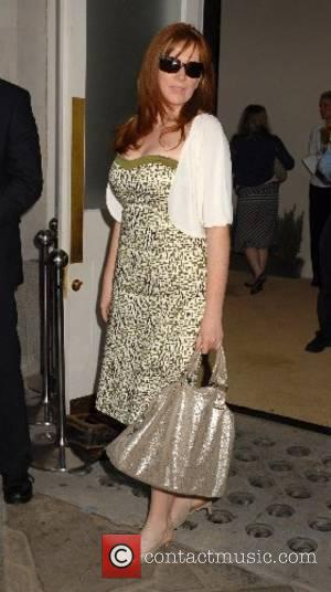Catherine Tate  Marks & Spencer Autumn/Winter 2007 - preview. at Covent Garden London, England - 24.05.07