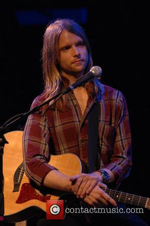 James Valentine of Maroon 5 House of Blues on the Sunset Strip Hollywood California Announce plans for a 2007