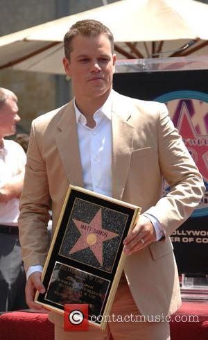 Matt Damon, Walk Of Fame