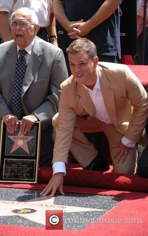 Matt Damon, Walk Of Fame