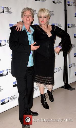 Cyndi Lauper and Elen Lauper