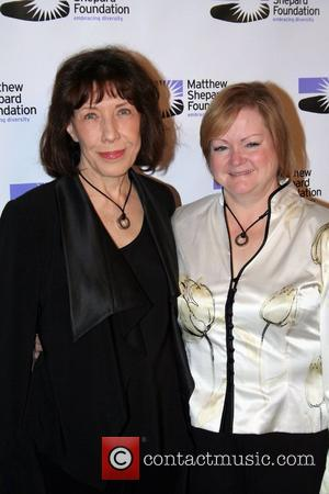 Lily Tomlin and Judy Shepard