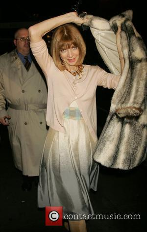 Anna Wintour and Matthew Williamson