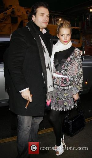 Brittany Murphy and husband Simon Monjack Mercedes-Benz Fashion Week Fall 2008 - Matthew Williamson - Outside New York City, USA...