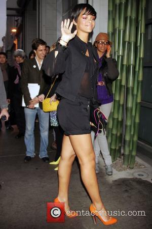 Rihanna and Matthew Williamson