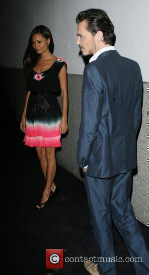 Thandie Newton and Matthew Williamson