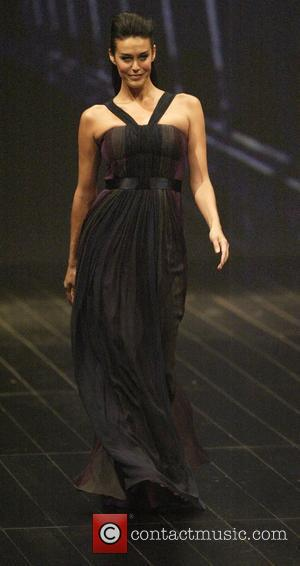 Megan Gale  The Australian super-model and brand ambassador for the David Jones department store, makes her final runway appearance...