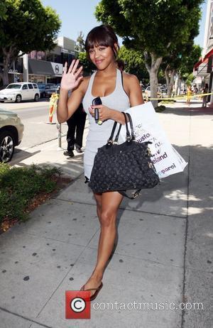 Meagan Good 'Stomp the Yard' star walking along Robertson Boulevard after shopping at American Apparel Los Angeles, California - 15.05.08