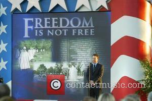 Gary Sinise Participated in the annual Memorial Day weekend Dress rehearsal. held a the Capitol.  Washington DC, USA -...