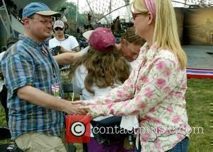 Bonnie Hunt Rehearsals for the National Memorial  Day Concert  on the West Lawn The Capitol  Washington DC...