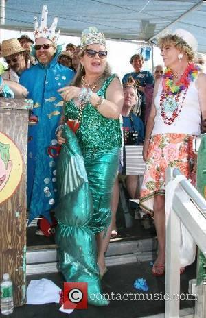 Queen of the Mermaids Actress Patti D'Arbanville of Guiding Light and Rescue Me 25th Annual Mermaid Parade Coney Island Boardwalk...