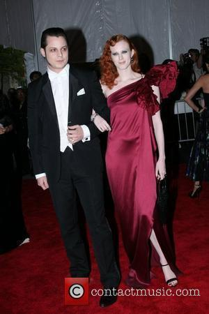 Jack White and Karen Elson 'Superheroes: Fashion and Fantasy' Costume Institute Gala at The Metropolitan Museum of Art - Arrivals...