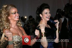 Lynda Carter and guest 'Superheroes: Fashion and Fantasy' Costume Institute Gala at The Metropolitan Museum of Art - Arrivals New...