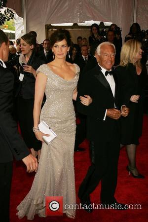 Julia Roberts and Giorgio Armani