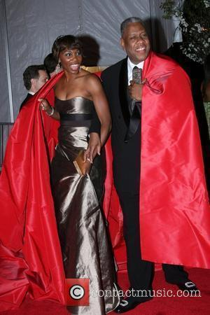 Venus Williams and Andre Leon Talley
