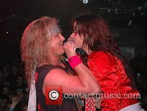 Juliette Lewis on stage at Metal Skool at the Key Club. Juliette and Pink both took to the stage during...